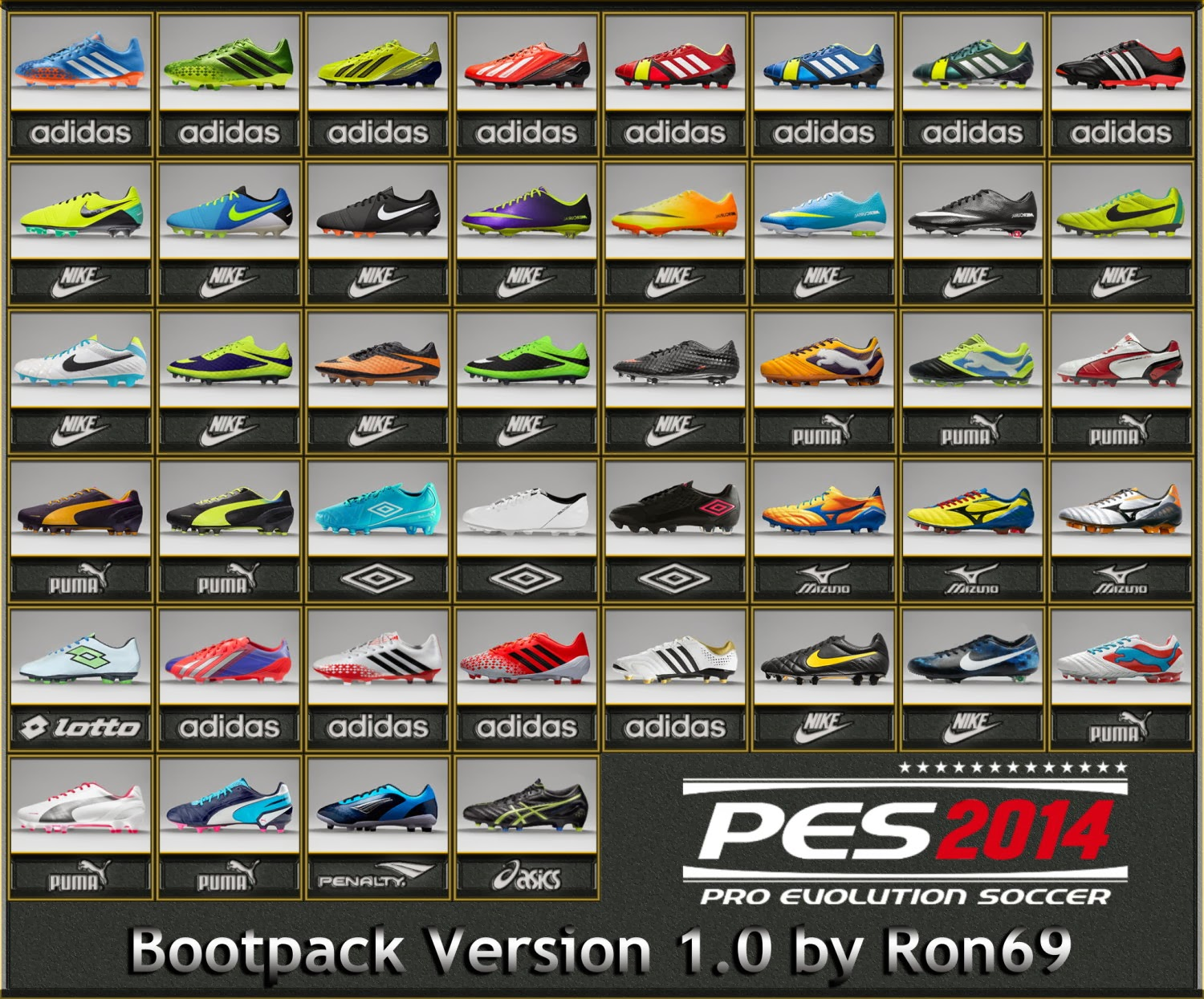 Bootpack 2014 pes 2011 patch