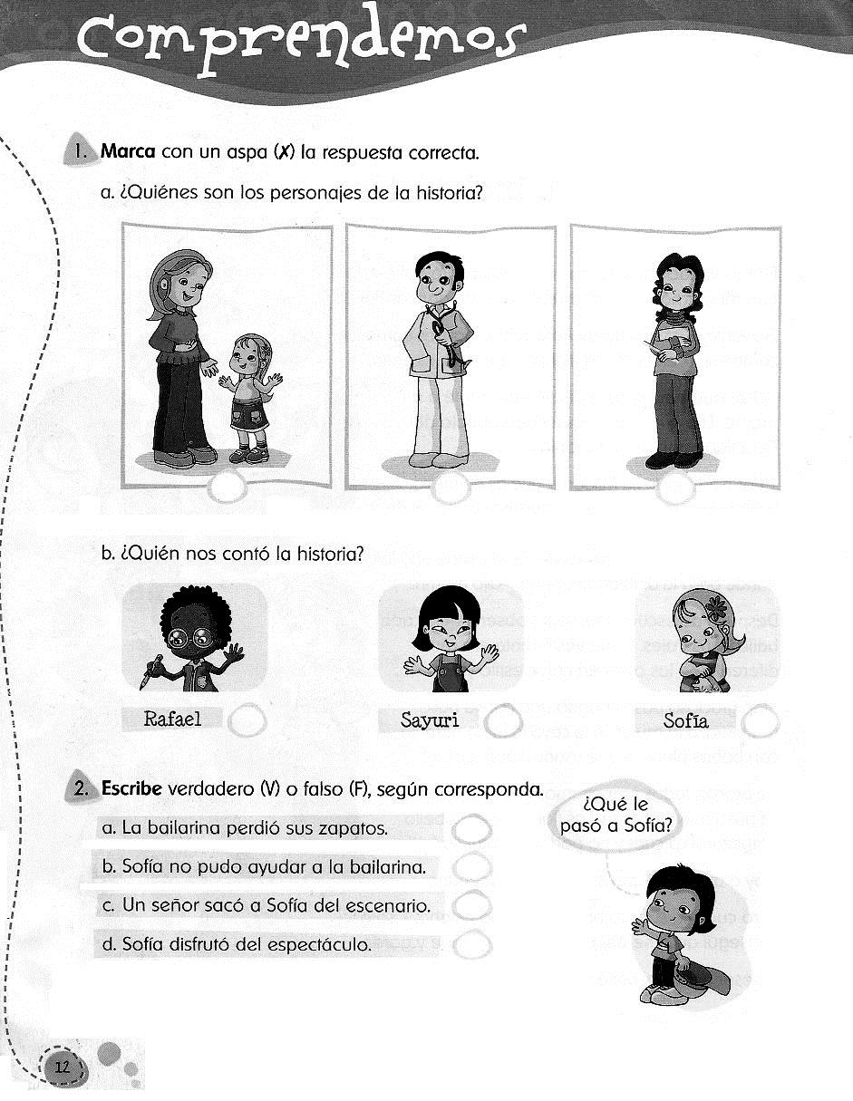 Comprensión Lectora para Segundo Grado de Primaria para Imprimir ...