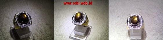 Batu Akik sapphire black star