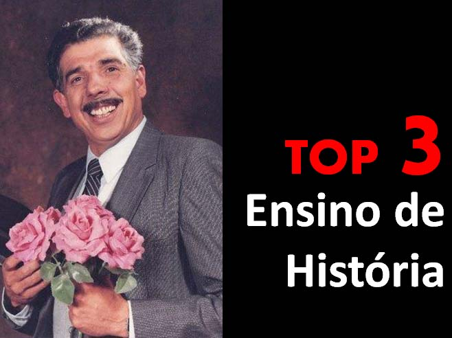 Top 3 - Ensino de História