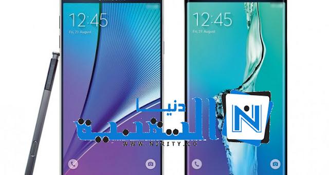 صورة مسربة جديدة للهاتف Galaxy Note 5 و S6 Edge Plus