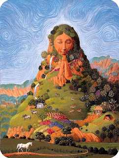 I Mother Earth bandnaam uitleg - pagan-goddess-mother-earth