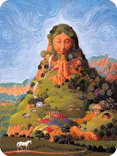 I Mother Earth bandnaam uitleg - pagan-goddess-mother-earth