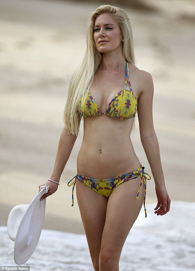 Latest and Hottest from Hollywood Beauties: Heidi Montag in bikini