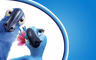 Rio Movie Parrots Cartoon HD Wallpaper