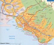 Honolulu Map (honolulu map oahu)
