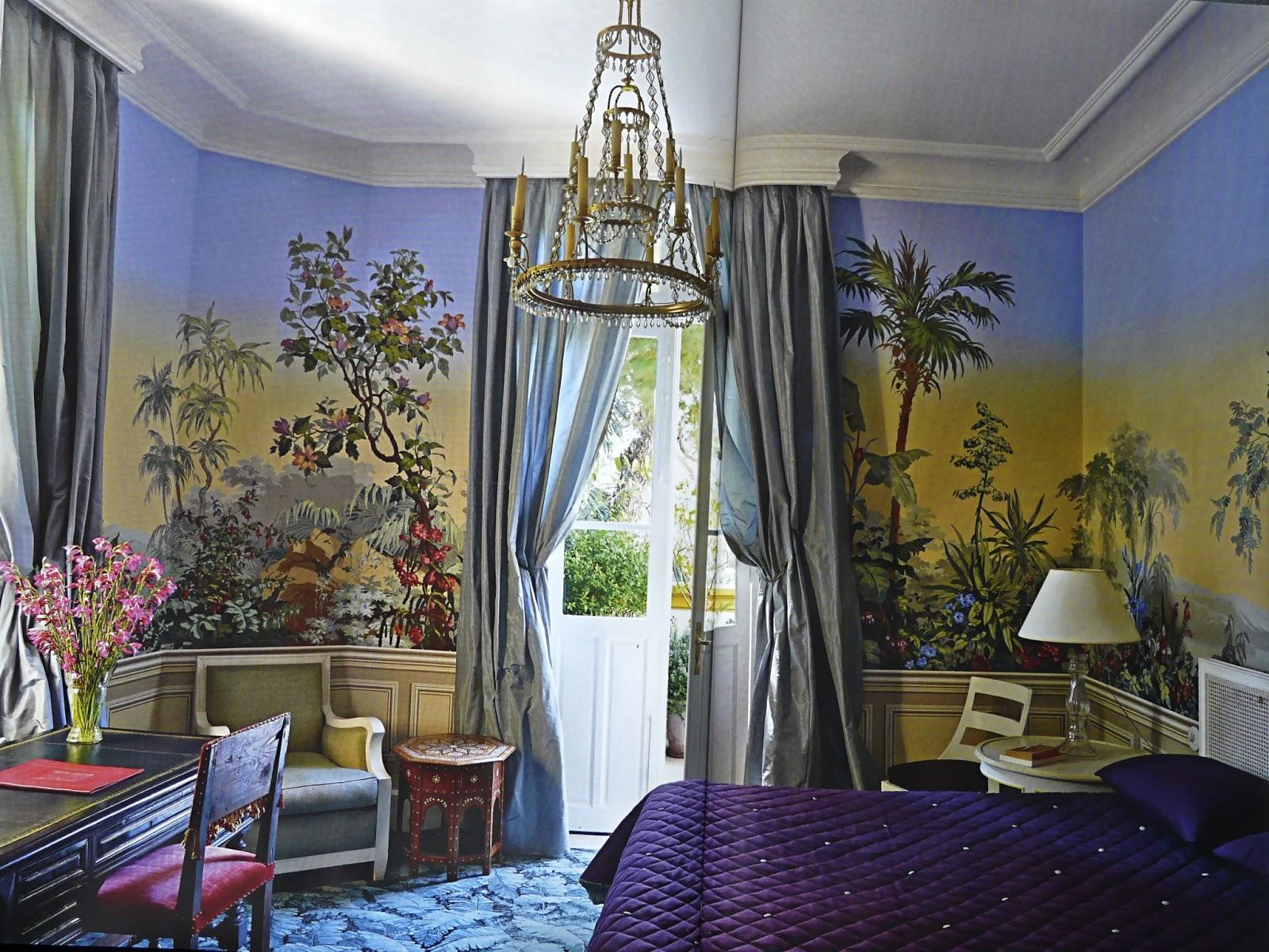 Papier peint couleur lin et taupe - Papier peint pour salon et salle a manger ...