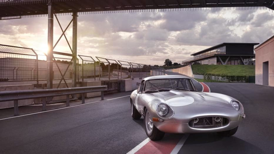 News - Jaguar introduces continuation Lightweight E-Type