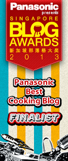 Singapore Blog Awards 2013 ~ Finalist, BEST COOKING BLOG