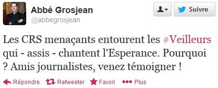 tweet Grosjean