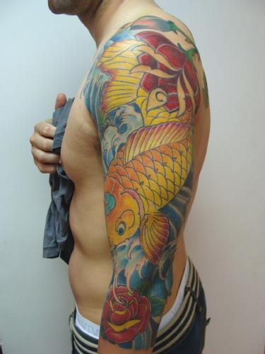 tattoo carpa. tattoo Carpa
