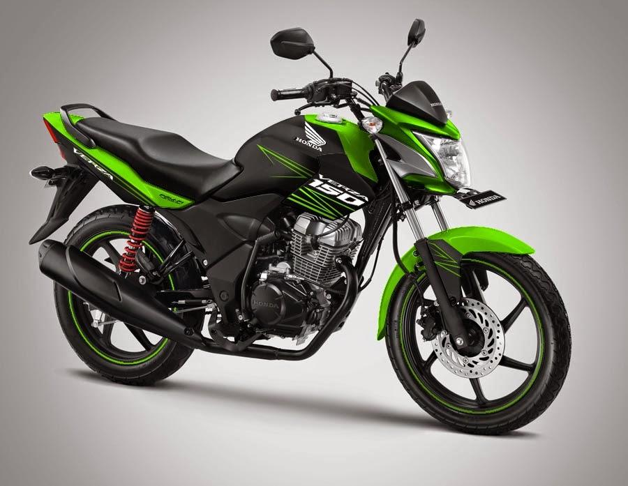 Foto Modifikasi Motor Honda Verza 150 Terbaru 2014 Hijau