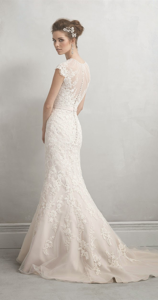 Allure bridals madison james collection belle the magazine for Madison james wedding dress prices