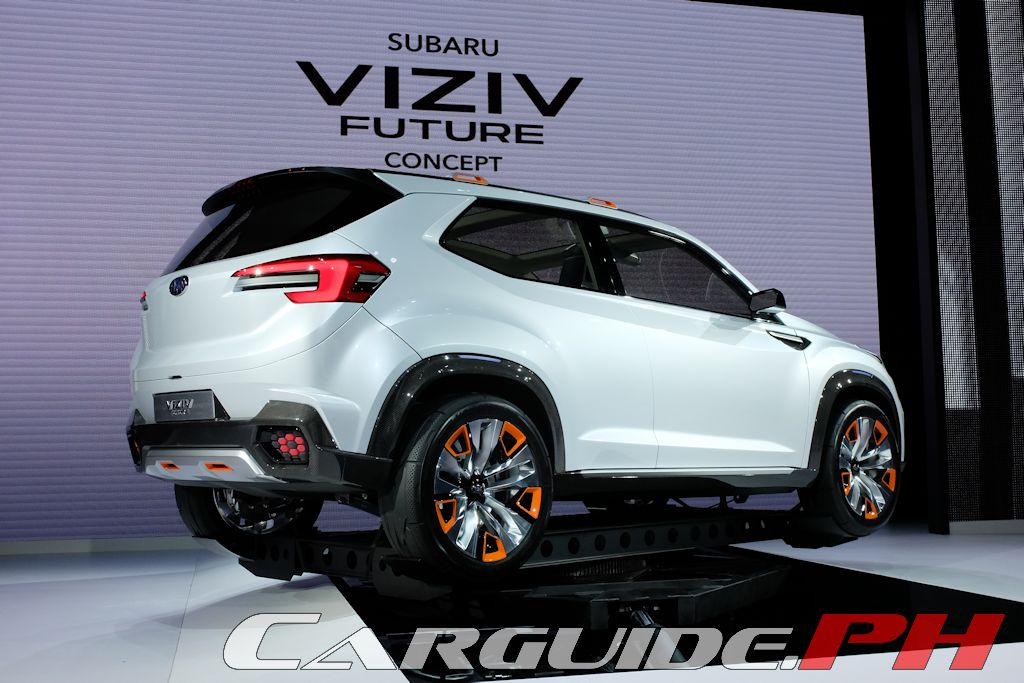 Tokyo motor show 2015 subaru concepts form cornerstone of prominence 2020 plan carguide ph