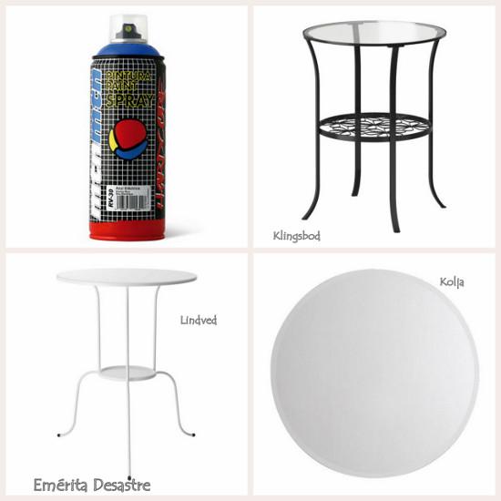 Em rita desastre transformar ikea una mesa de lujo - Mesas de centro que se elevan ...