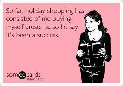 funny, Christmas, ecard, online shopping, spending