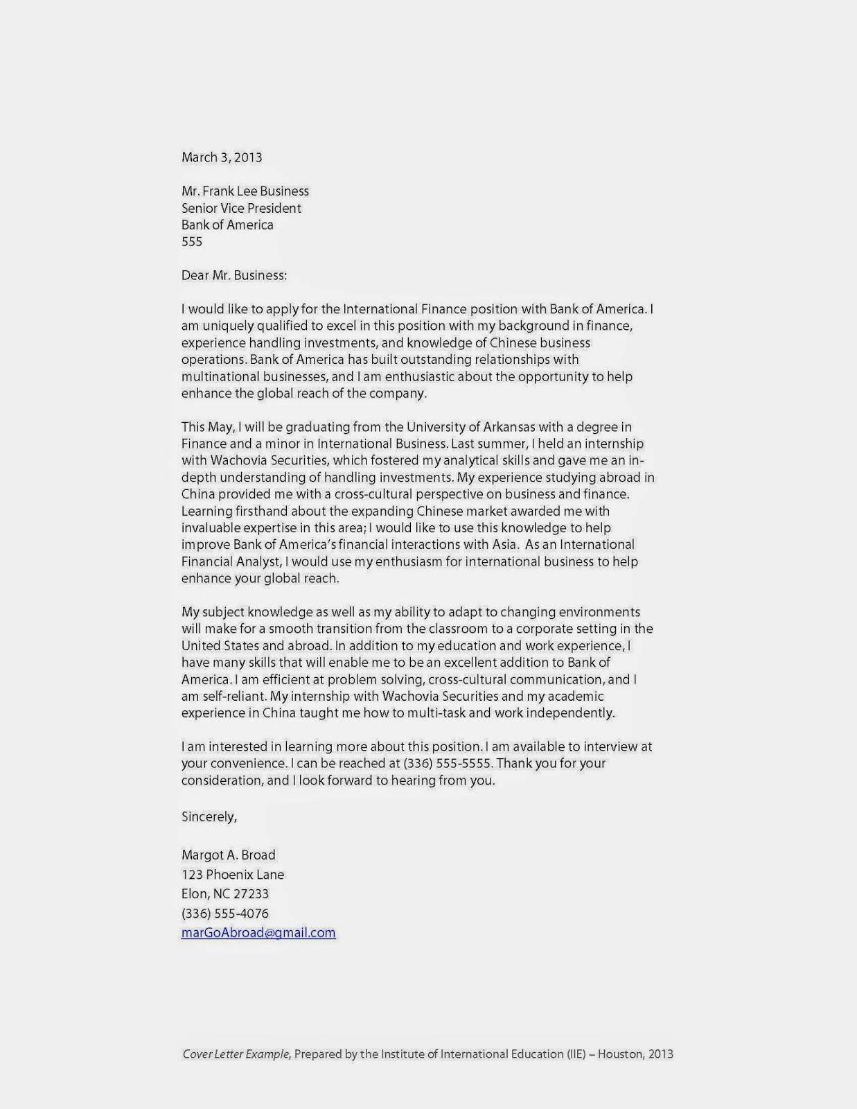 sample cover letter for working abroad templates and examples sample college essay examples study abroad cover letter examples