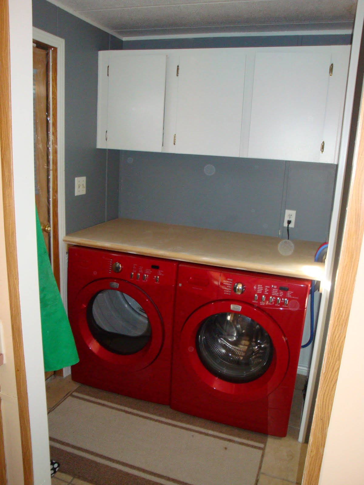 Countertop Above Washer And Dryer : LAUNDRY ROOM OVER WASHER DRYER COUNTER WASHERS & DRYERS