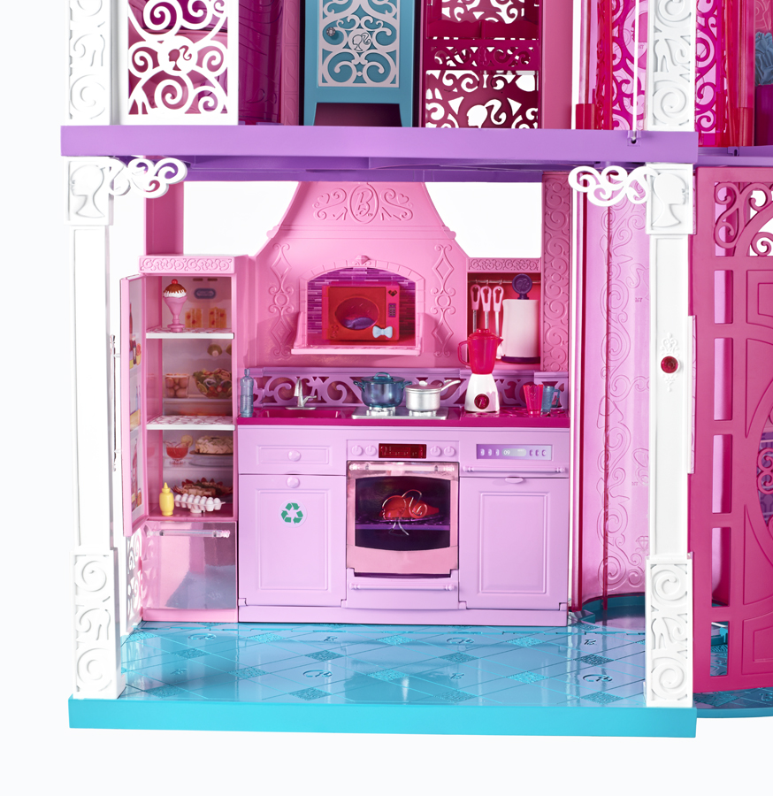 Dream Kitchen Reviews: Sugar Pop Ribbons Reviews And Giveaways: 2013 Barbie Dreamhouse Review