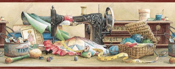Borde para decorar con maquina de coser