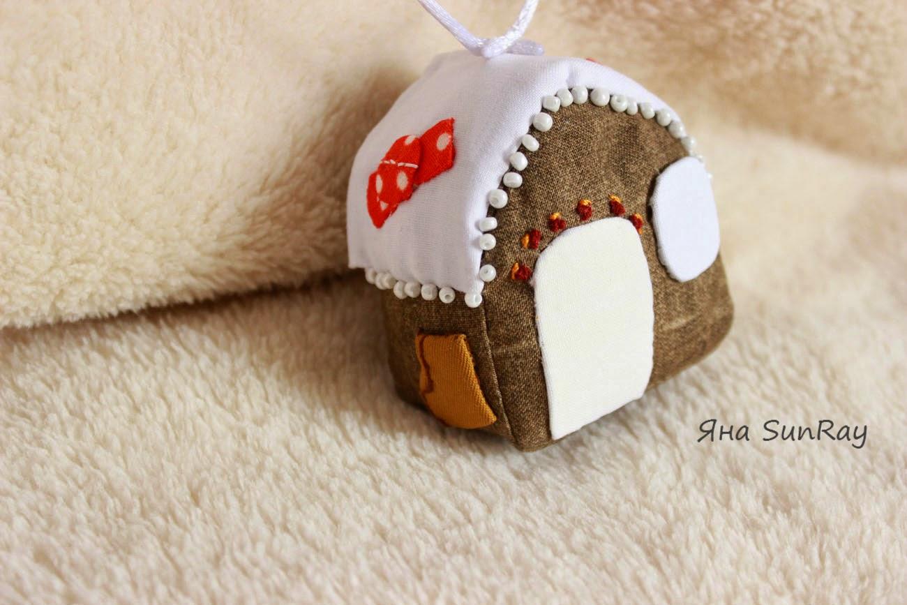 елочная игрушка, елочные игрушки,  сувенир, домик сувенир, красивая подвеска,новогоднее настроение, новогодние украшения, сувенир, оригинальный сувенир, для интерьера, новогодний сувенир, домик под снегом, настроение своими руками,