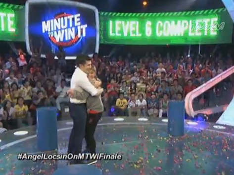 Luis Manzano And Angel Locsin Minute To Win It