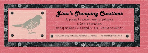 Gina's Stamping Creations