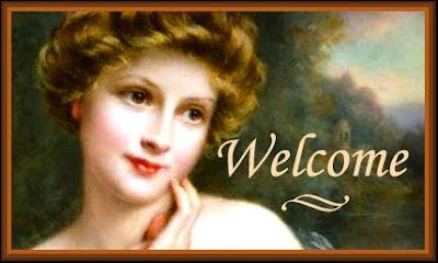 banner vintage dama victoriana