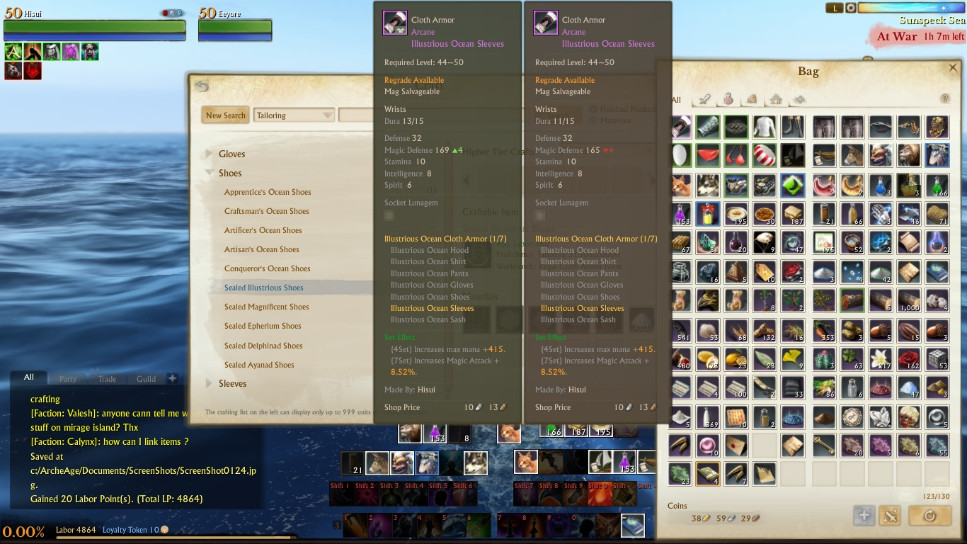 Crafting Upgrade Chance Archeage