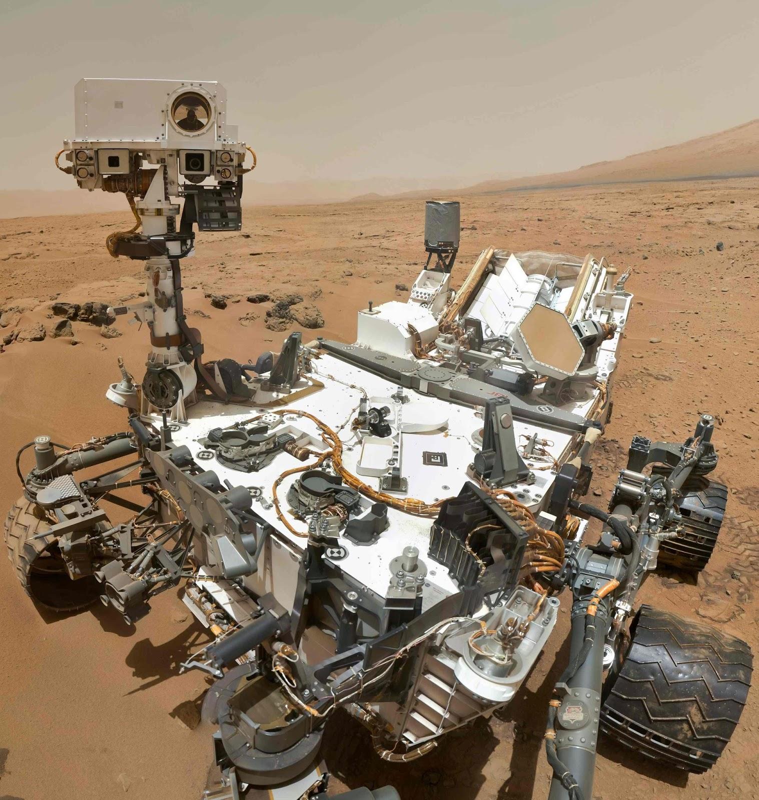 nasa robots on mars - photo #7