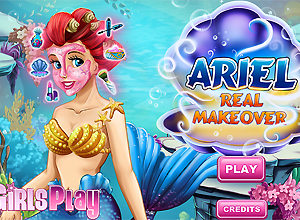 Ariel Real Makeover