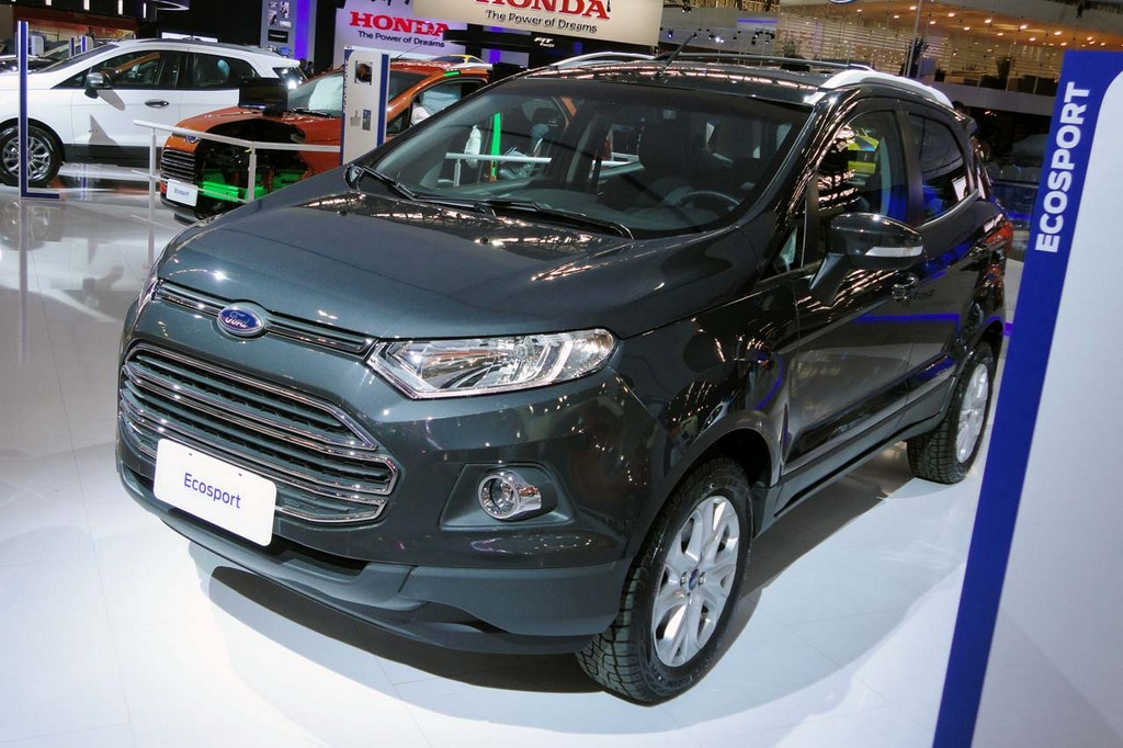New Ford Ecosport In Europe