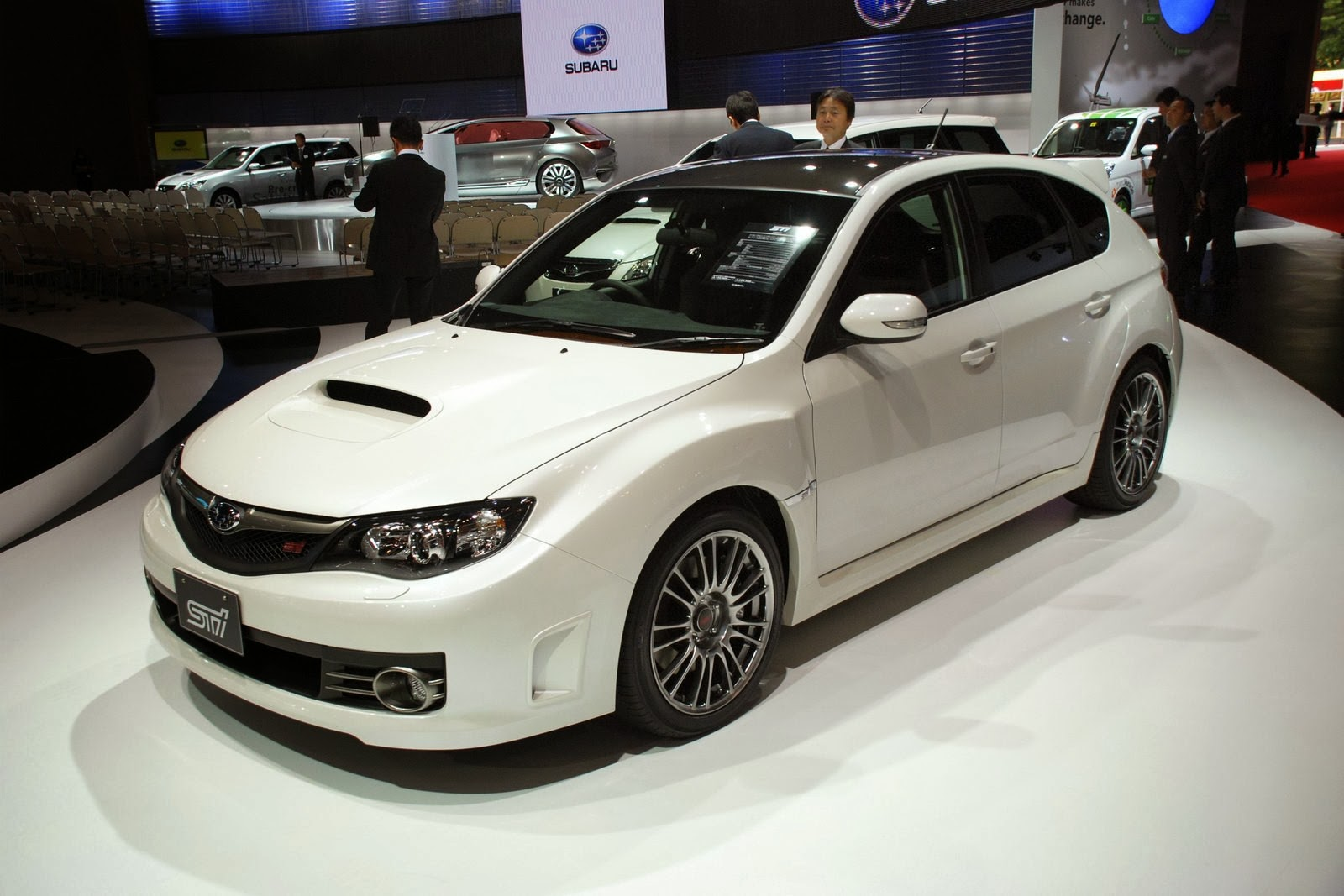 Subaru Impreza Wrx Sti Carbon 2017 Wallpaper