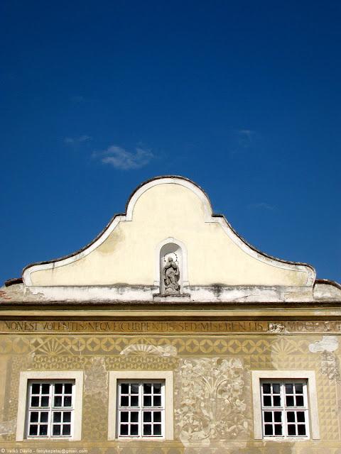 Sgraffitós-ház, Köszeg, Magyarország
