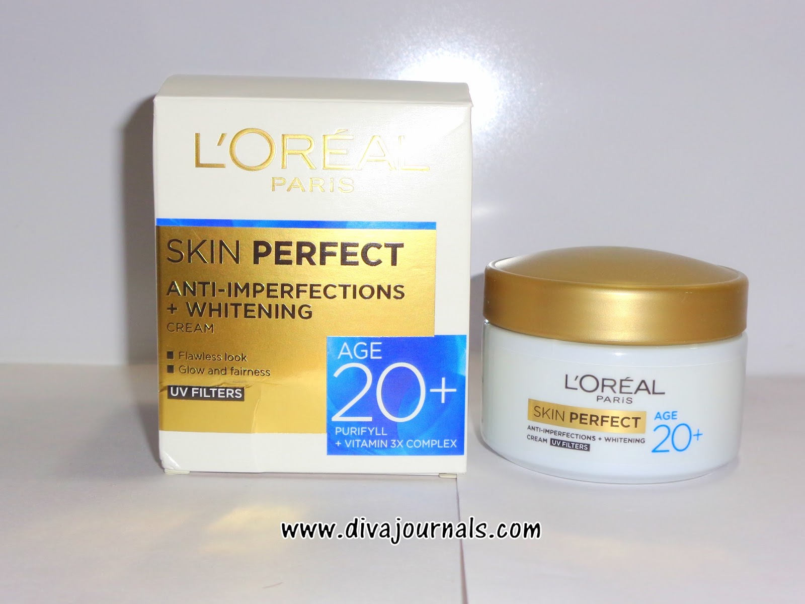 L'oreal Paris Skin Perfect Age 20+ Cream Review