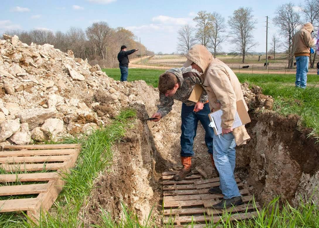 Winston web news for Soil judging