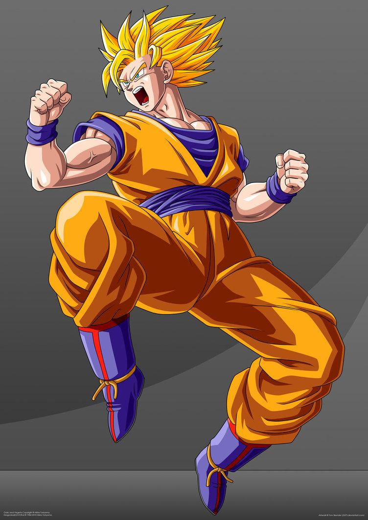 Dragon ball z wallpapers goku super saiyan 2 - Goku super sayen ...