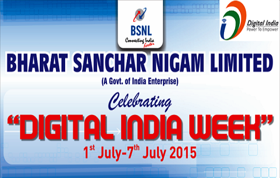 Digital India Week Celebrations: BSNL Kerala Circle to conduct Elocution Contest for School Children on 5th July 2015