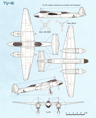 Тактико-технические характеристики самолета Ту 2
