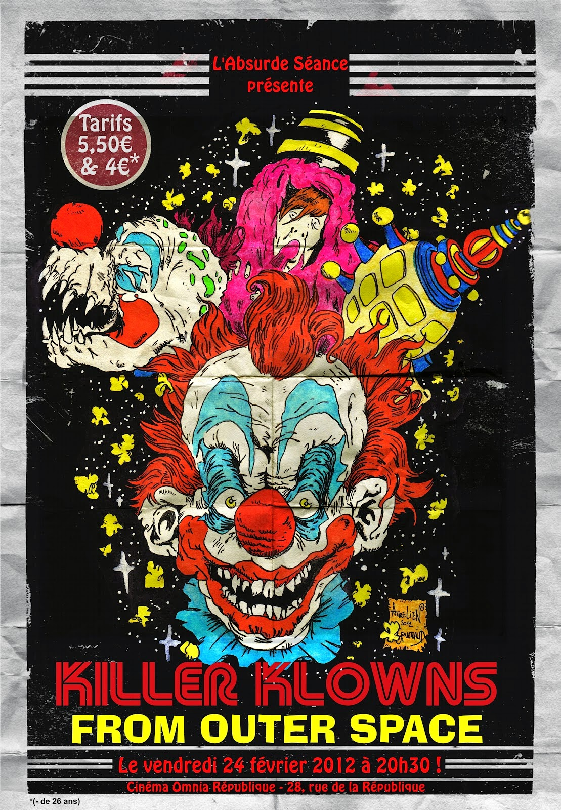 Monster monday killer klowns facebook funniest galleries for Return of the killer klowns from outer space