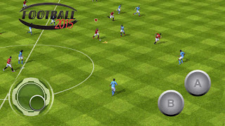 Screenshots of the Football 2015 for Android tablet, phone.