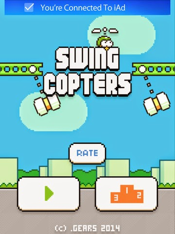 Swing Copters by Dong Nguyen