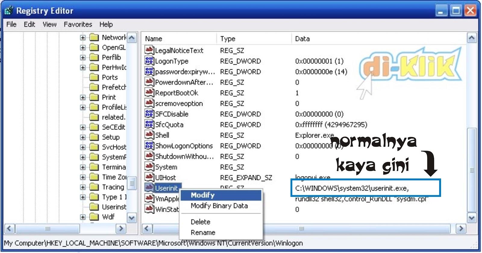my document terbuka otomatis saat log in windows ini