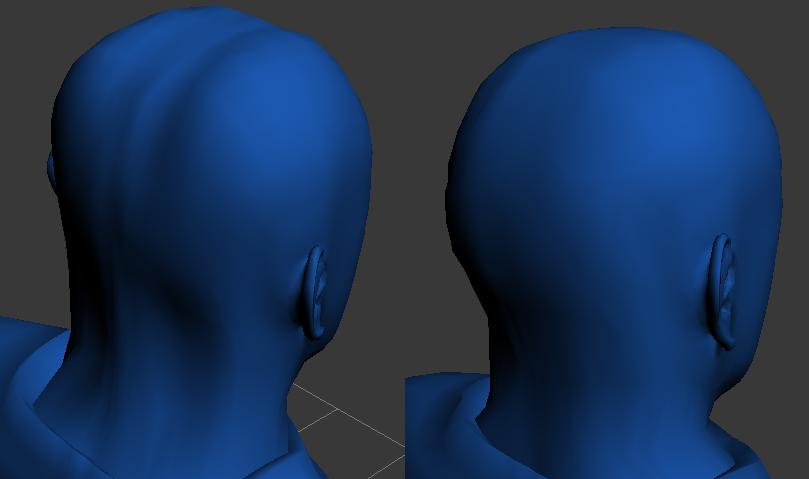 Cráneo del personaje