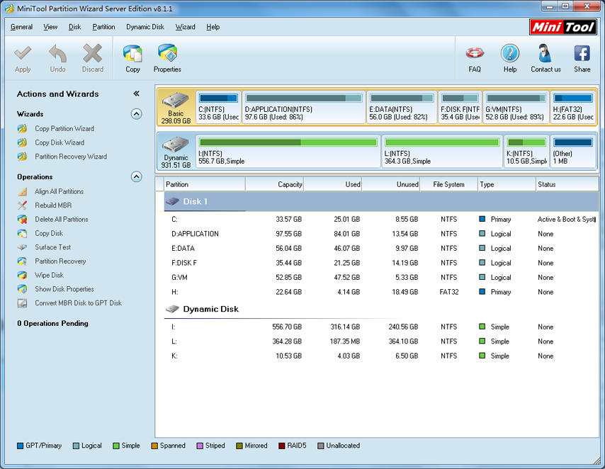 MiniTool Partition Wizard Professional Edition image