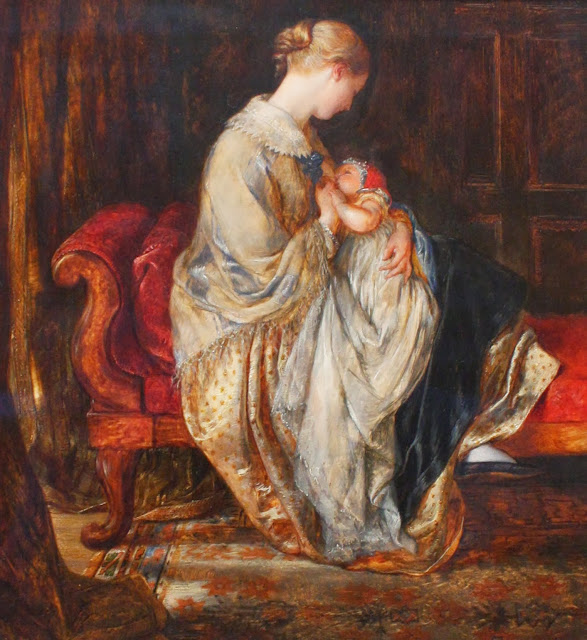 charles west cope,victorian era,mother