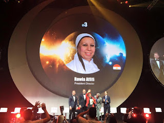 Global Top 15 Oriflame #3 Egypt Rawia Affifi (President Director)