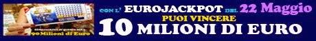 EUROJACKPOT | estrazione del 22 Maggio 2015