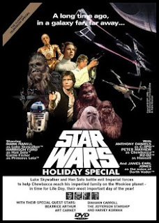 Star Wars Holiday Special, póster con todo el reparto