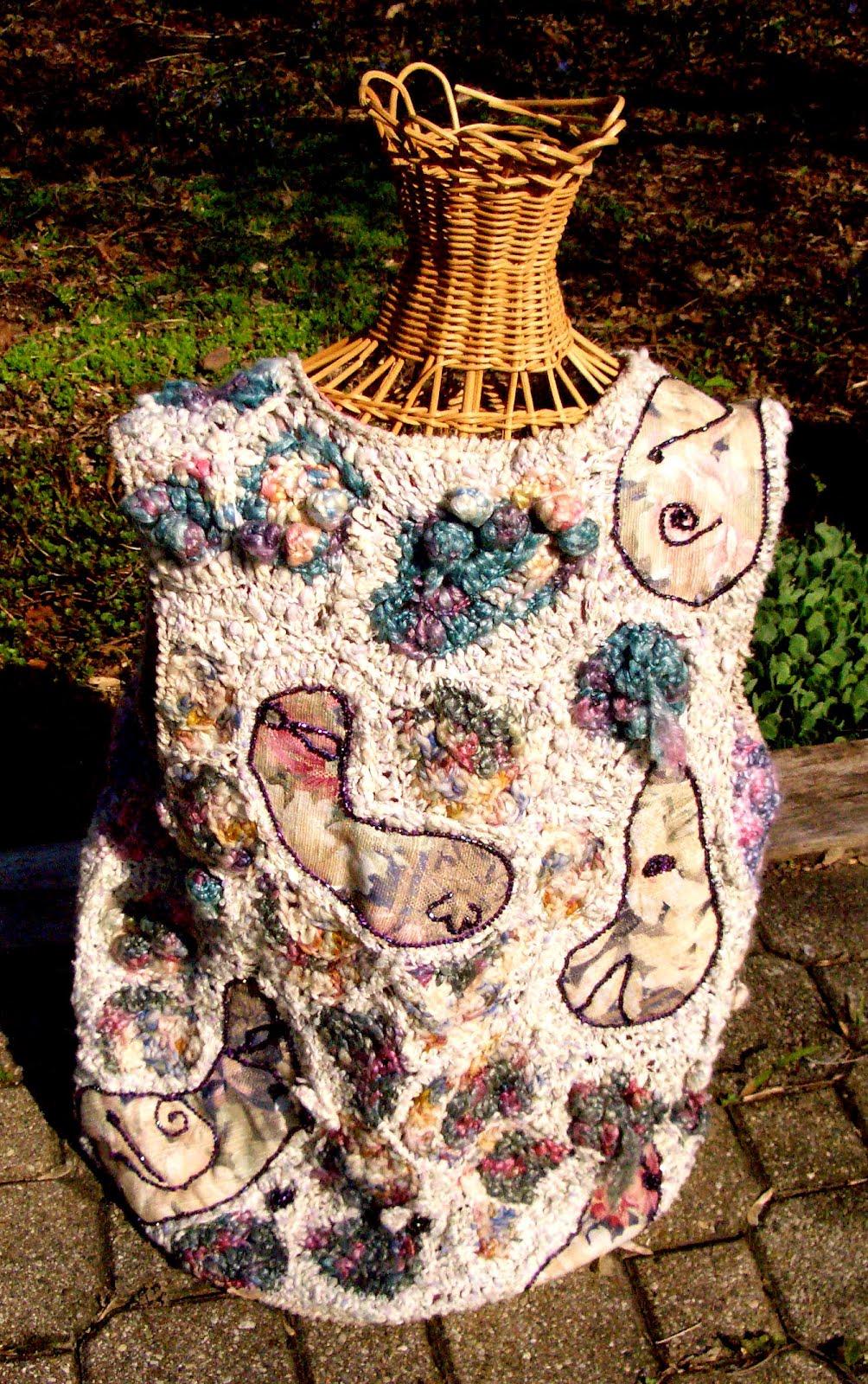 Crochet Queen: Royal Ramblings: International Free Form Crochet Guild